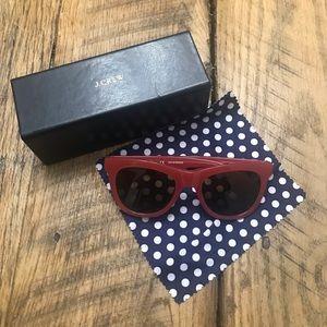 JCrew sunglasses in watermelon pink!